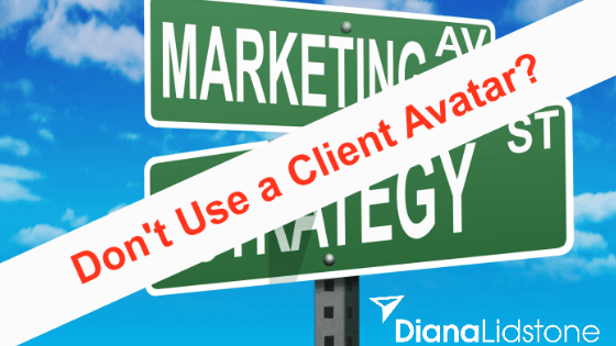 Don't use a client avatar!