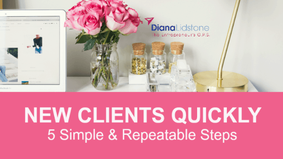 Quickly Fill Your Agenda with New Clients