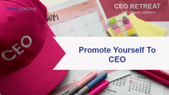 Promote Yourself to CEO